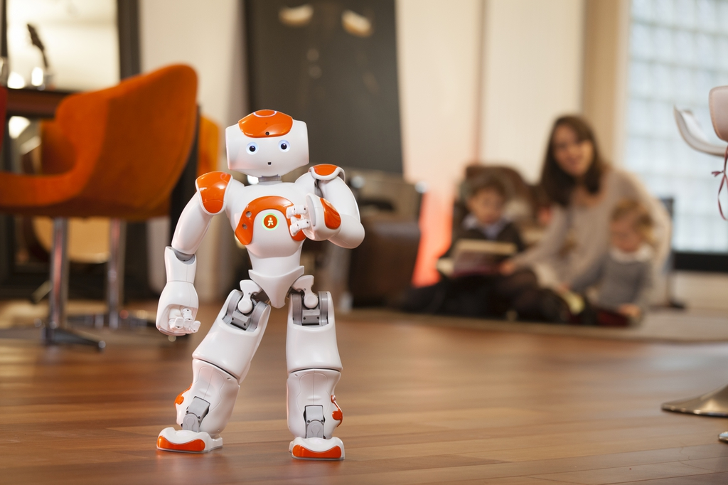 Photo: My surrogate son for 3 years - Nao the CREATE lab robot
